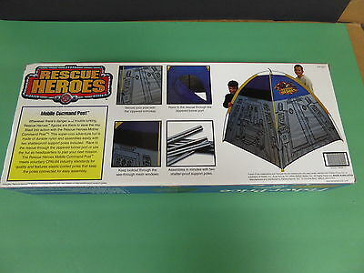 Rescue Heroes Fisher Price  New  Nylon Dome Tent  Hard To Find
