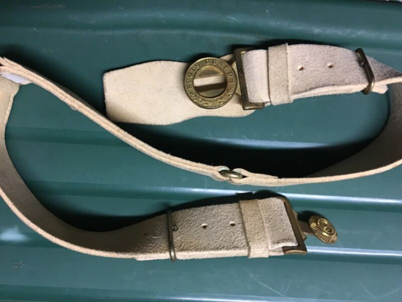Scots Guard belt . Shipping cost extra