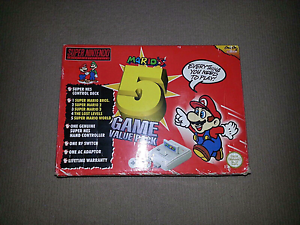 WANTED: super Mario 5 game value pack cib Gawler Gawler Area Preview