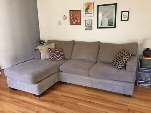 Clean Comfy L Couch