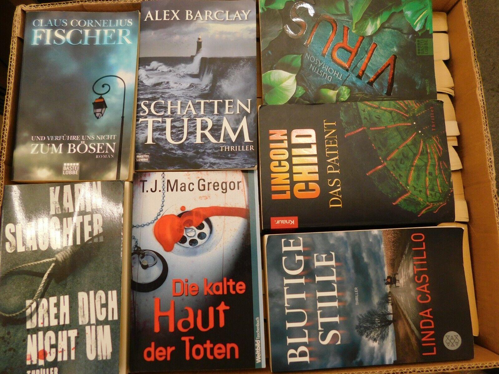 55 Bücher Taschenbücher Krimi Thriller Psychothriller Top Titel Bestseller
