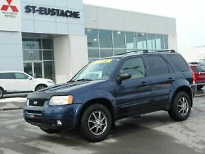 2003 Ford Escape Limited Duratec **4X4/AWD**CUIR**TOIT OUVRANT