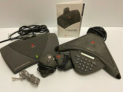 Polycom Soundstation Premier Conference Phone - Model 2201-01900-001
