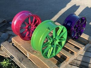 Henderson's Powder Coating Services Offered