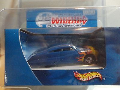 Hot Wheels Jc Whitney Blue Passion W Real Riders In Protecto