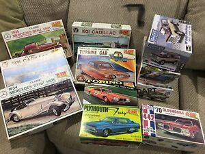 Scale Model Cars (Collection)