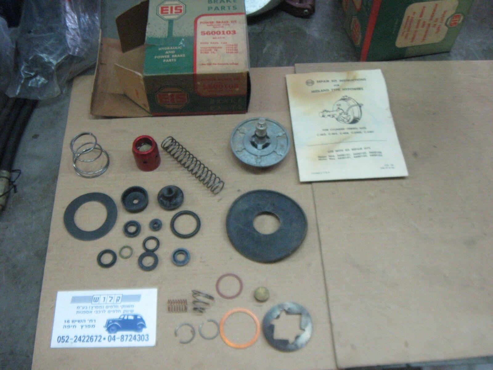 EIS 6600103 POWER BRAKE KIT MIDLAND TYPE MAJOR REPAIR KIT 1954 -1960 THUNDERBIRD