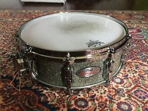 """Pearl reference 14x5"""" granite sparkle 20 ply snare drum"""
