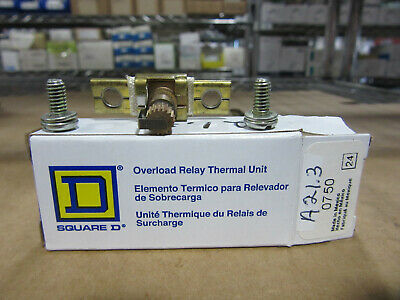Square D A21.3 Thermal Overload Heater Element New In Box