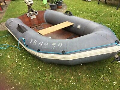 Avon Rover Inflatable boat 2.8 mtr and Seabee outboard engine