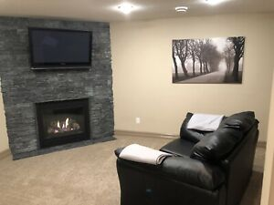 1 Bedroom Beautifully Finished Basement Suite ~ St. Albert