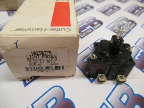 Cutler Hammer 10250T79, Series A2, Light Module, 24/28 Volt- NEW-B