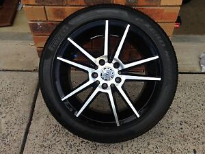 """4 x wheels and tyres 17"""" for VZ Commodore Frenchs Forest Warringah Area Preview"""