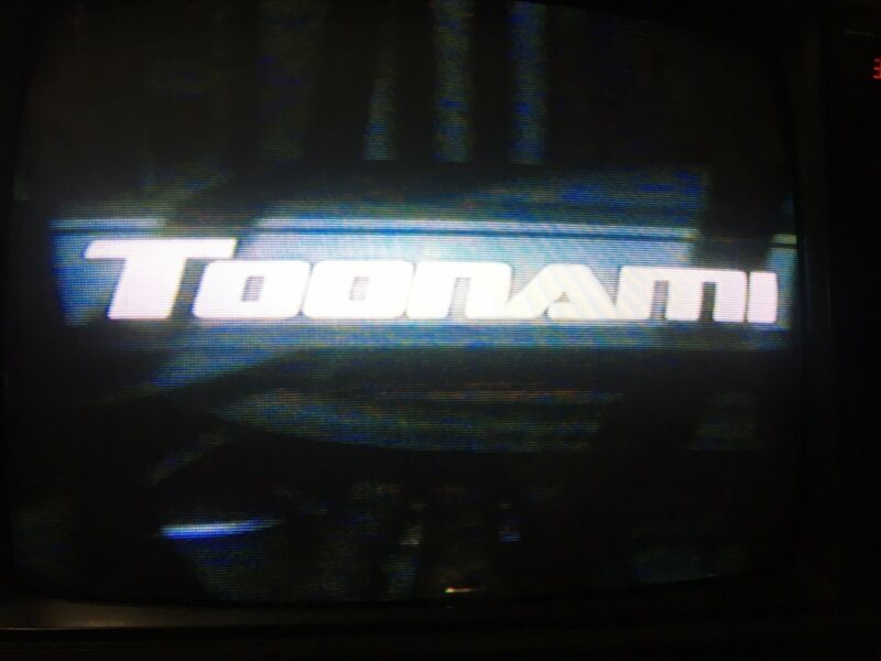 Nickelodeon Cartoon Network Toonami VHS SOLD AS BLANK Commercials Nick