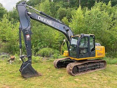 2012 John Deere 120d Crawler Excavator With Bucket New Paint New Service