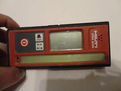 Good Hilti Pra 20g Green Laser Detector