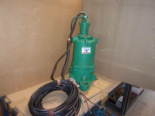 Aurora Hydromatic SPGH300M2-2 HYDR-O-GRIND Submersible Sewer Grinder Pump , 230V