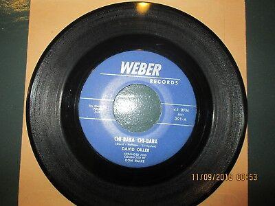 Usado, DAVID DILLER Chi-BaBa/ Maybe Baby  Weber 45-391 VG++ comprar usado  Enviando para Brazil