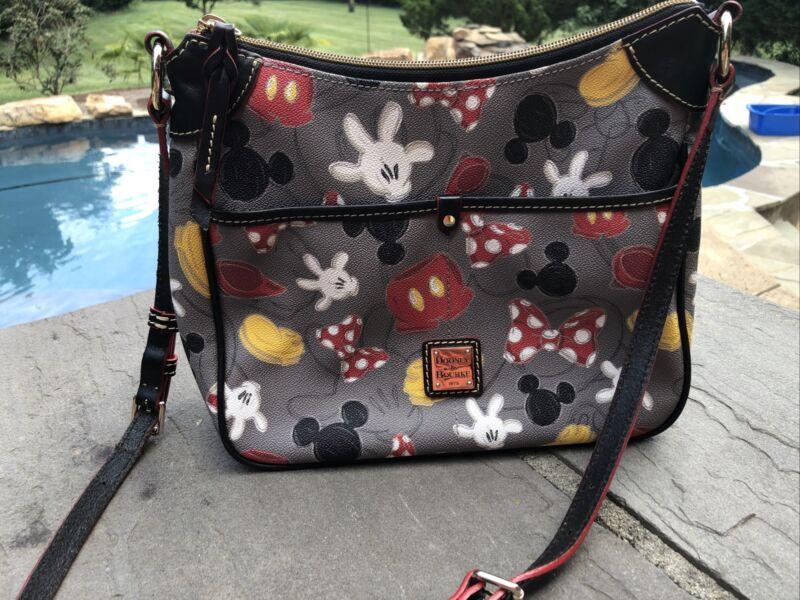 Dooney & Bourke Disney Mickey Mania Body Parts Crossbody Bag Rare Best Of Mickey
