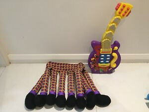 Wiggles Guitar And Henry The Octopus Costume Toys Indoor