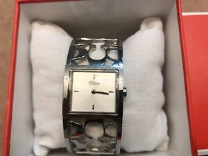 Coach watch and tote bag