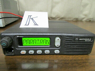 K - Motorola Mcs 2000 Mobile Radio 800mhz Uhf 250 Channels M01hx812w As-is
