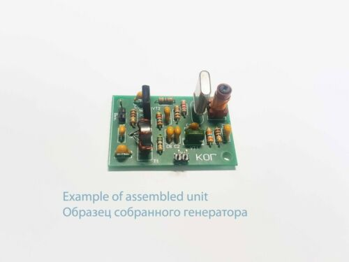 Beat frequency oscillator (BFO) on XTAL for HF Amateur Transceivers / Receivers