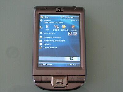 HP IPAQ CLASSIC 110 111 WINDOWS MOBILE 6 POCKET PC PDA WIFI+ 1 YEAR WARRANTY - Hp Mobile Pda