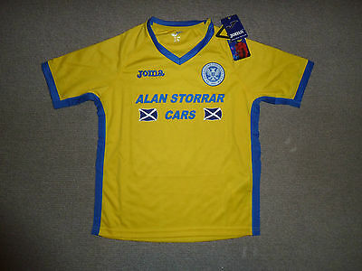 size:XXXL ST JOHNSTONE SHIRT  AWAY Soccer Jersey PERTH SAINTS 2016-17 image