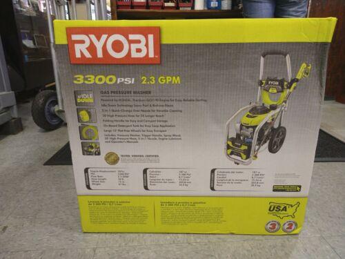 Ryobi 3300 PSI 2.3 GPM Honda Gas Pressure Washer