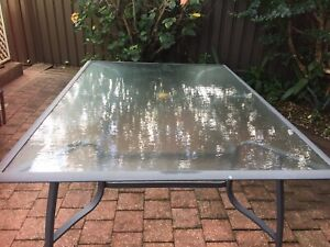 10 seater outdoor table - no chairs