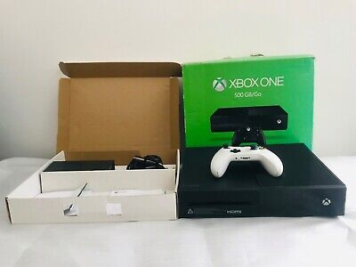 Microsoft Xbox One 500gb  Black Console, Controller & wires