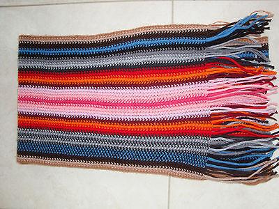 Echarpe colorée