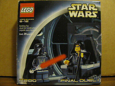 Lego Classic Star Wars 7200 Final Duel 1 complete with original box and manual