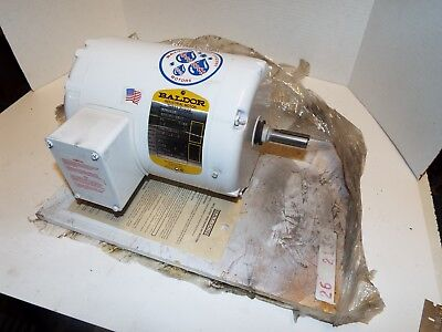 Baldor Wdm3538 Wash Down Duty Motor 12 Hp Rpm 1725 V 208-230460 3 Ph Fr 56