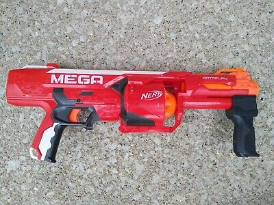 Nerf Mega Rotofury Pump Mega Nerf Gun Toy Used Without Darts Good Condition