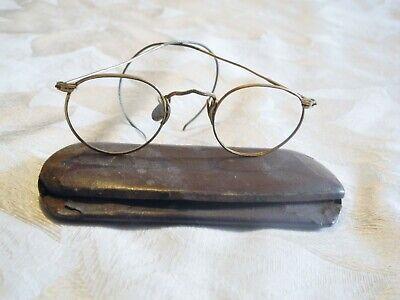 0c3e048676ae American Optical Ful-Vue 1/10 12k GF Gold Filled Vintage Round Eyeglasses