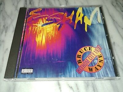 RARE ESHAM BRUCE WAYNE GOTHOM CITY 1987 CD GOTHOM OVERCORE RLP NATAS