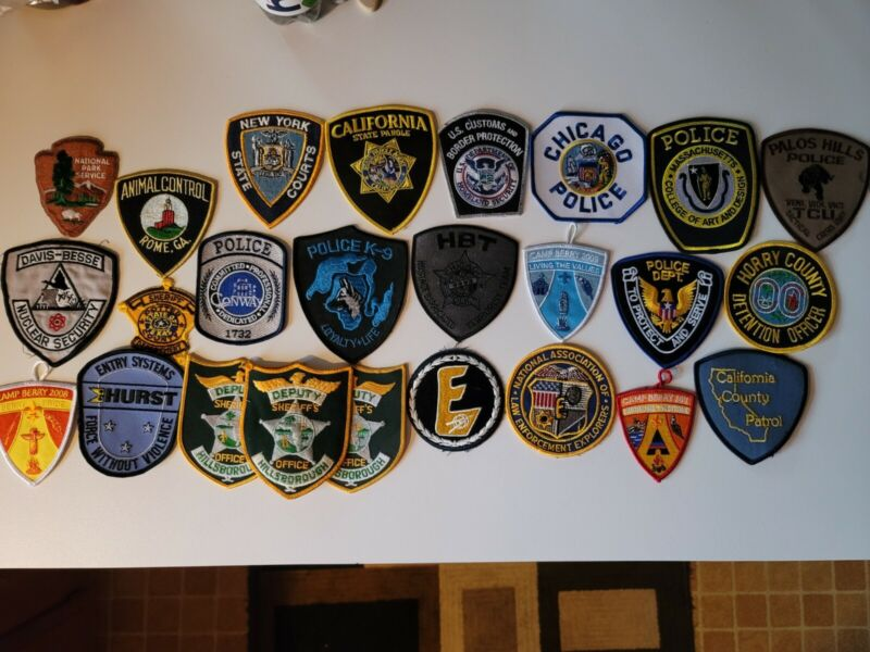 Police Patches (Assorted Lot) 🔥🔥