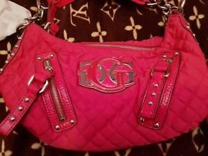 cc19914cf8 Hot pink small genuine Guess handbag