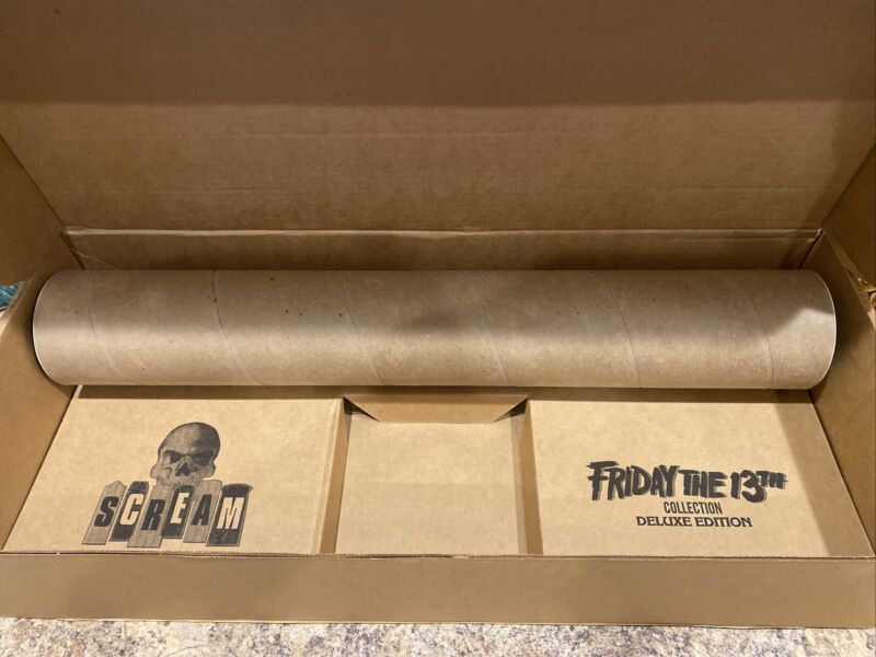FRIDAY THE 13TH LITHOGRAPH POSTER SET IN SCREAM FACTORY EXCLUSIVE BOX SOLD OUT