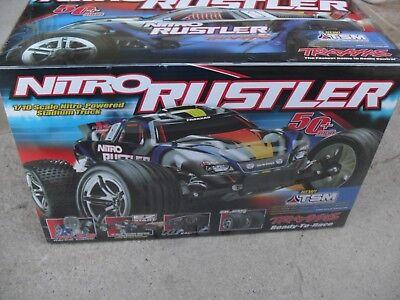 Traxxas Nitro Rustler 2.5 RTR 1/10 Scale with TSM New ()