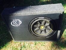 New 10 inch slimline sub and amp 300w Narre Warren Casey Area Preview