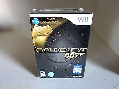 GoldenEye 007 w/Controller Exclusive Walmart w/ T-shirt Nintendo Wii Rare  comprar usado  Enviando para Brazil