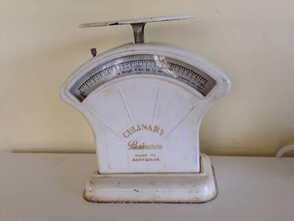 Vintage Kitchen Scales, - Imperial Measurement - Metal & Bakelite
