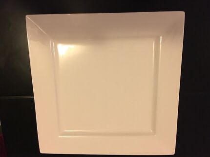 Lumina Fine China Square Plate