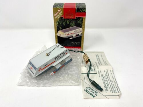 "Star Trek ""Shuttlecraft Galileo"" Ornament - Hallmark Keepsake in Box 1992"