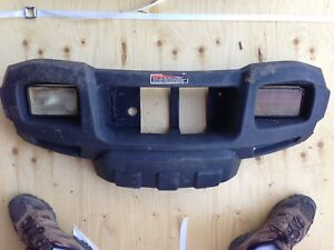 Polaris ATV front grill with lights