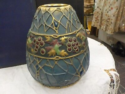 art nouveau 1910-1925 Terex Holly  Austrian vase by Paul Daschel artist