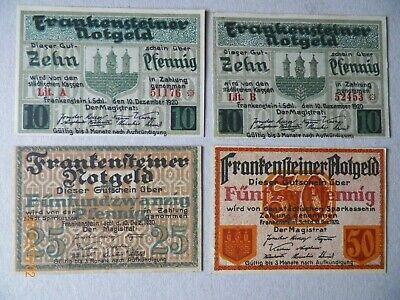 Frankenstein  Stadt  Verkehrsausgabe    kompl. Serie